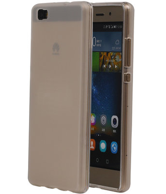 Huawei Ascend P8 Lite TPU Hoesje Transparant Wit