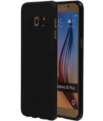 Hoesje voor Samsung Galaxy S6 Edge Plus TPU Zwart