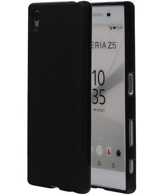 Hoesje voor Sony Xperia Z5 TPU Zwart