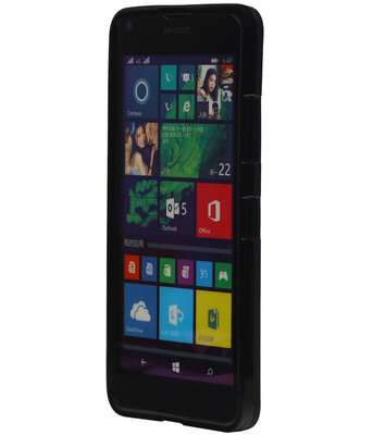 Hoesje voor Microsoft Lumia 532 TPU Zwart