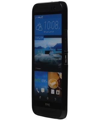 Hoesje voor HTC Desire 526 TPU Zwart