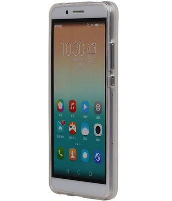 Hoesje voor Microsoft Lumia 950 XL TPU Transparant Wit