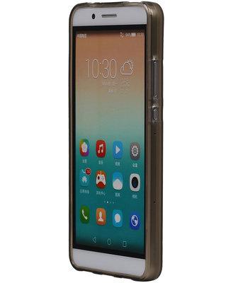 Hoesje voor Microsoft Lumia 950 XL TPU Transparant Grijs