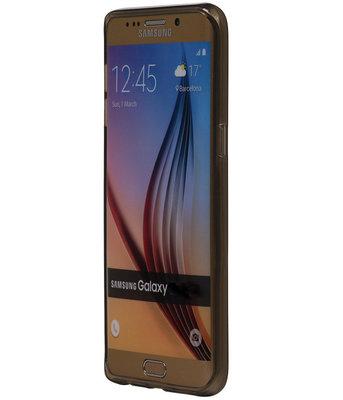 Hoesje voor Samsung Galaxy J2 2015 TPU Transparant Grijs