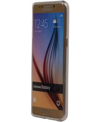 Hoesje voor Samsung Galaxy On7 TPU Transparant Wit