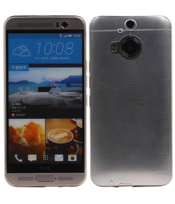 HTC One M9 Plus Hoesje Transparant