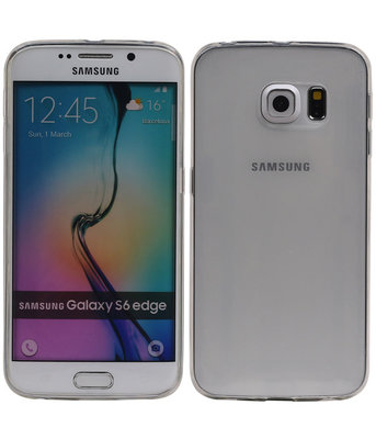 Hoesje voor Samsung Galaxy S6 Edge Transparant