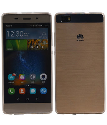 Huawei P8 Lite Hoesje Transparant