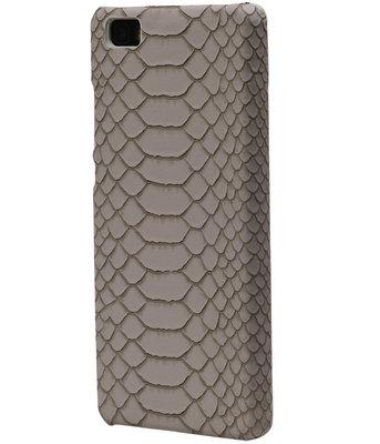 Beige Slang Hardcase Backcover Hoesje voor Huawei Honor Y6