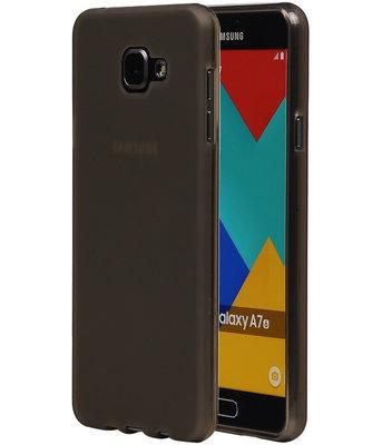Hoesje voor Samsung Galaxy A7 (2016) TPU Transparant Grijs