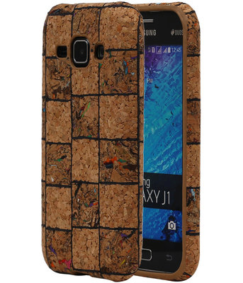 Kurk Design TPU Cover Case voor Hoesje voor Samsung Galaxy J1 2015 Model B
