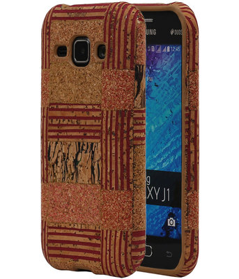 Kurk Design TPU Cover Case voor Hoesje voor Samsung Galaxy J1 2015 Model D