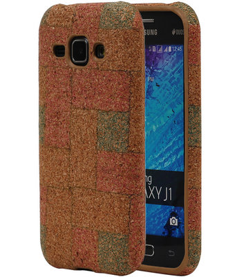 Kurk Design TPU Cover Case voor Hoesje voor Samsung Galaxy J1 2015 Model E