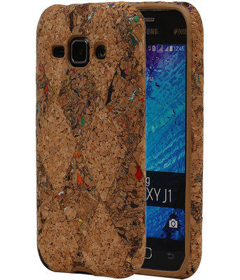 Kurk Design TPU Cover Case voor Hoesje voor Samsung Galaxy J1 2015 Model F
