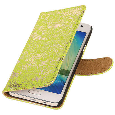 Lace Groen Samsung Galaxy S3 Book/Wallet Case/Cover Hoesje