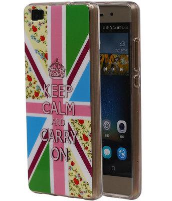 Keizerskroon TPU Cover Case voor Hoesje voor Huawei P8 Lite