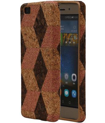 Kurk Design TPU Cover Case voor Huawei P8 Lite Hoesje Model A