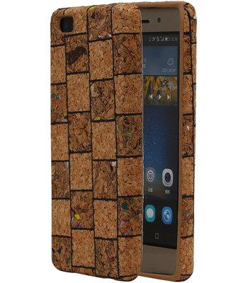 Kurk Design TPU Cover Case voor Huawei P8 Lite Hoesje Model B