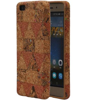 Kurk Design TPU Cover Case voor Huawei P8 Lite Hoesje Model C