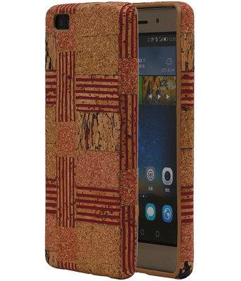 Kurk Design TPU Cover Case voor Huawei P8 Lite Hoesje Model D