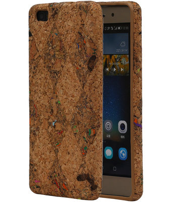 Kurk Design TPU Cover Case voor Huawei P8 Lite Hoesje Model F