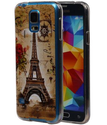 Eiffeltoren TPU Cover Case voor Hoesje voor Samsung Galaxy S5