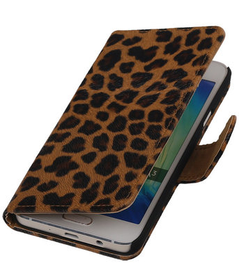 Luipaard Hoesje Samsung Galaxy A3 2016 Booktype Wallet Cover