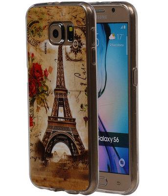 Eiffeltoren TPU Cover Case voor Hoesje voor Samsung Galaxy S6
