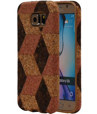 Kurk Design TPU Cover Case voor Hoesje voor Samsung Galaxy S6 Model A