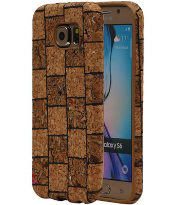 Kurk Design TPU Cover Case voor Hoesje voor Samsung Galaxy S6 Model B