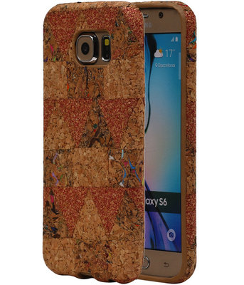 Kurk Design TPU Cover Case voor Hoesje voor Samsung Galaxy S6 Model C