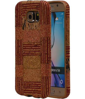 Kurk Design TPU Cover Case voor Hoesje voor Samsung Galaxy S6 Model D