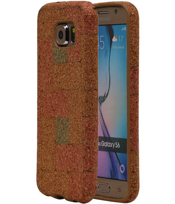 Kurk Design TPU Cover Case voor Hoesje voor Samsung Galaxy S6 Model E