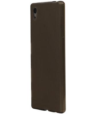 Hoesje voor HTC Desire 828 TPU Transparant Grijs