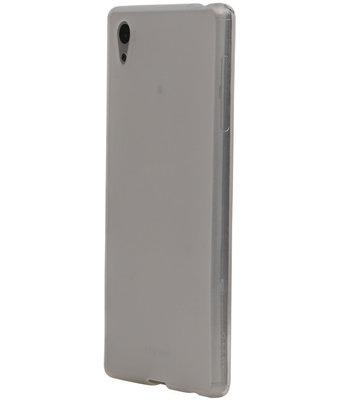 LG K7 TPU Hoesje Transparant Wit