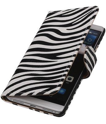 Zebra Booktype Hoesje voor Huawei Mate S Wallet Cover