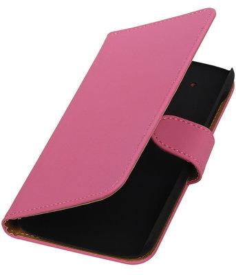 Hoesje voor HTC Desire 526 Booktype Roze