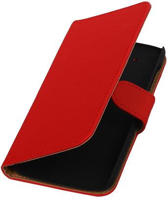 Hoesje voor HTC Desire 526 Booktype Rood