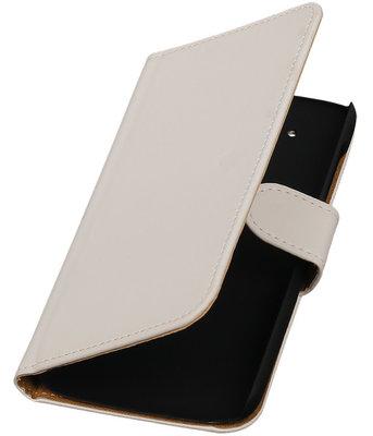 Hoesje voor HTC Desire 526 Booktype Wit