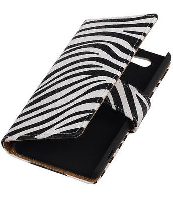 Hoesje voor Sony Xperia Z4 Compact Zebra Bookstyle Wallet