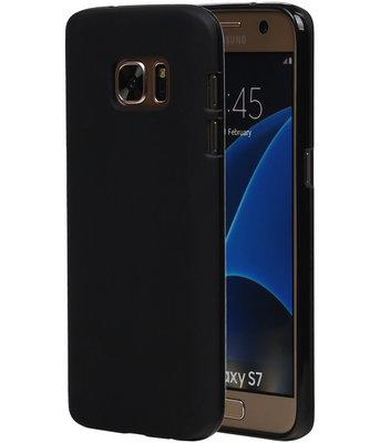 Hoesje voor Samsung Galaxy S7 TPU Zwart