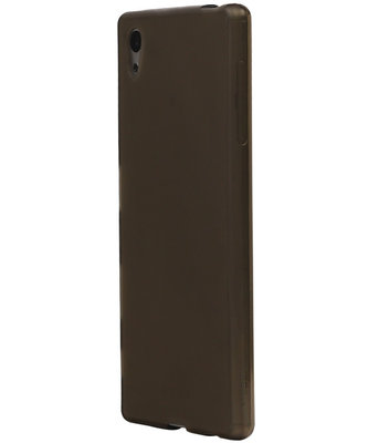 Hoesje voor LG K4 TPU Back Cover Transparant Grijs