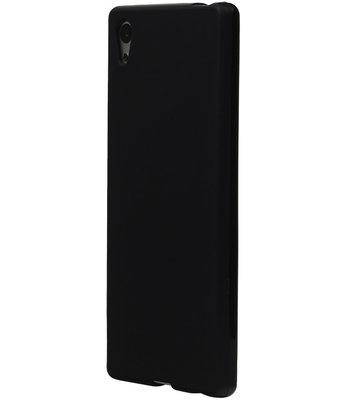 Hoesje voor LG K4 TPU Back Cover Zwart