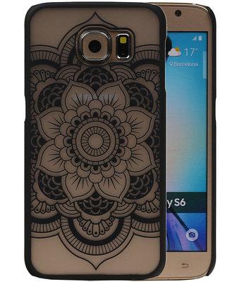 Hoesje voor Samsung Galaxy S6 - Roma Hardcase Zwart
