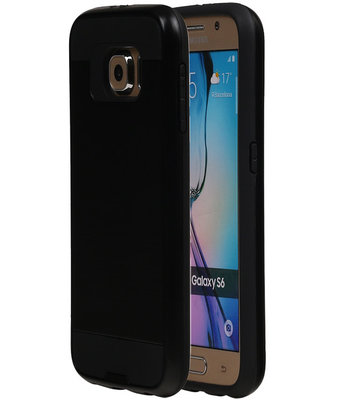Zwart BestCases Tough Armor TPU back cover hoesje voor Samsung Galaxy S6