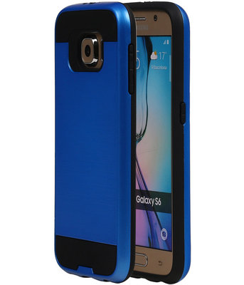 Blauw BestCases Tough Armor TPU back cover hoesje voor Samsung Galaxy S6
