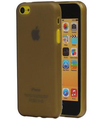 Apple iPhone SE TPU Hoesje Transparant Grijs