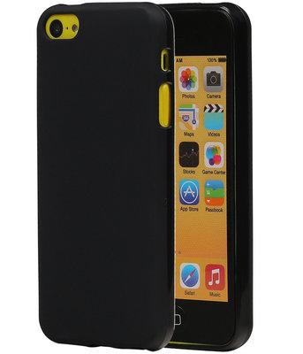 Hoesje voor Apple iPhone SE TPU Zwart