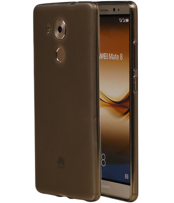 Hoesje voor Huawei Ascend Mate 8 TPU Transparant Grijs