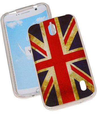 Britse Vlag TPU Cover Case voor Hoesje voor Huawei Y625
